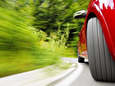Поворот колеса и гул подшипника