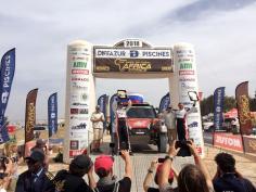 Экипаж Suprotec Racing вошёл в число лучших на ралли-марафоне Africa Eco Race – 2018
