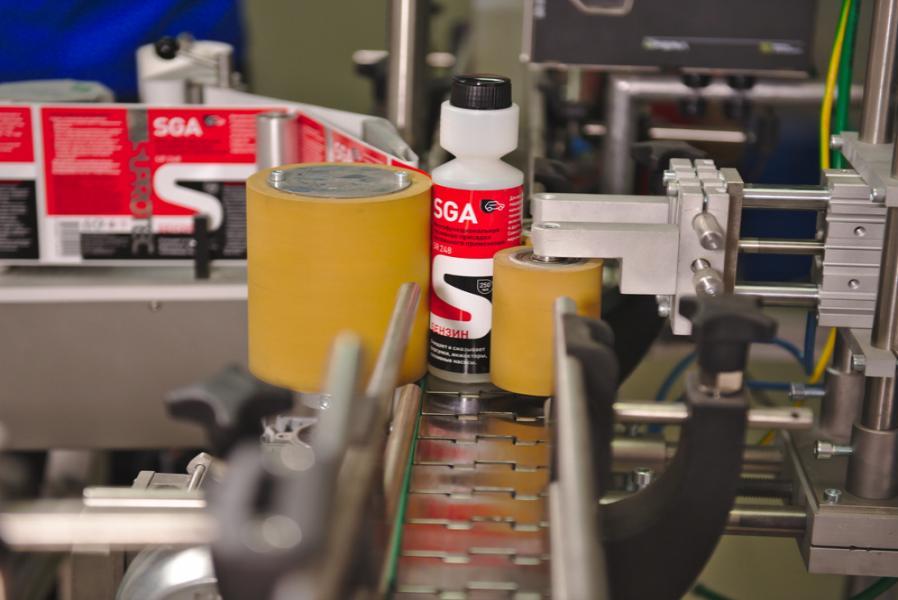 Производство присалки в бензин. Супротек СГА