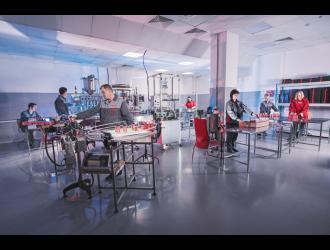 Производство триботехнических составов и продуктов автохимии компании «Супротек».